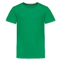 Hipo in Irish green hat st.Patrick's day Teenage Premium T-Shirt