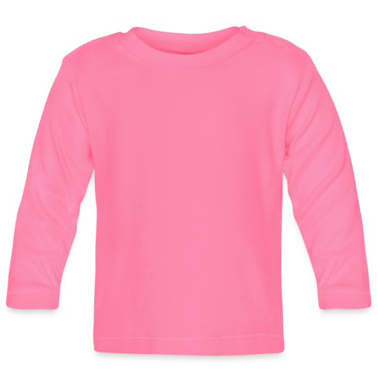 Langarmet baby-T-skjorte
