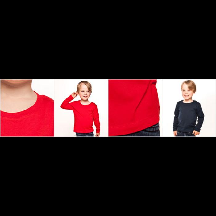 Långärmad premium-T-shirt barn