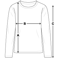 Größentabelle Teenager Premium Langarmshirt