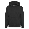 Skull with Headphones - Classic Hoodie - Men's Premium Hooded Jacket