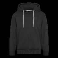 Pullover & Hoodies ~ Männer Premium Kapuzenjacke ~ Artikelnummer 18320359