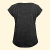 Psychocat - T-shirt à manches retroussées Femme