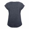 #weilbaum-T-Shirt Akzeptanz - Frauen T-Shirt mit gerollten Ärmeln