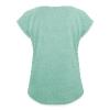 Mieze - Frauen T-Shirt mit gerollten Ärmeln - Frauen T-Shirt mit gerollten Ärmeln
