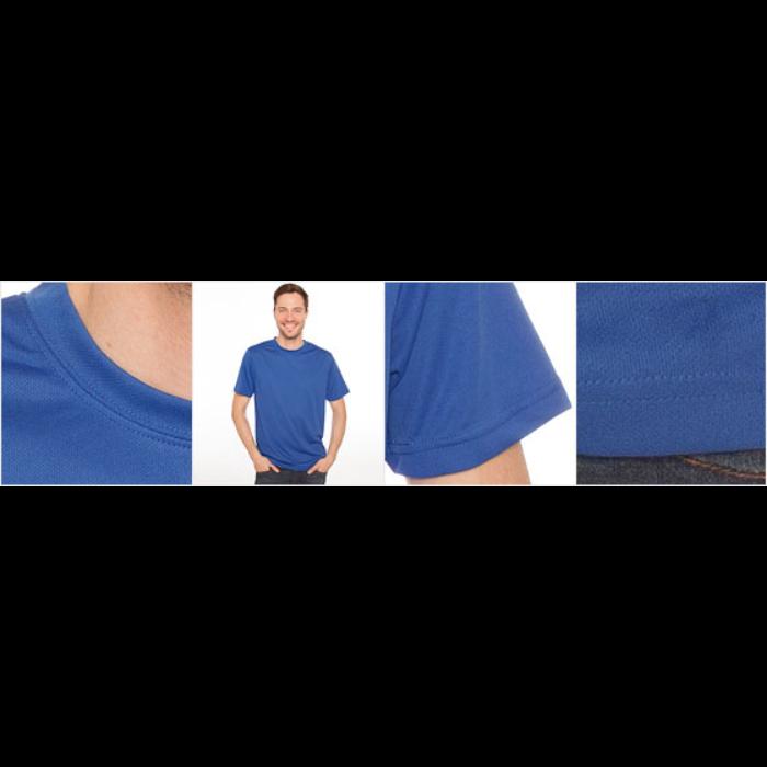 Pustende T-skjorte for menn