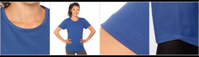 Andningsaktiv T-shirt dam