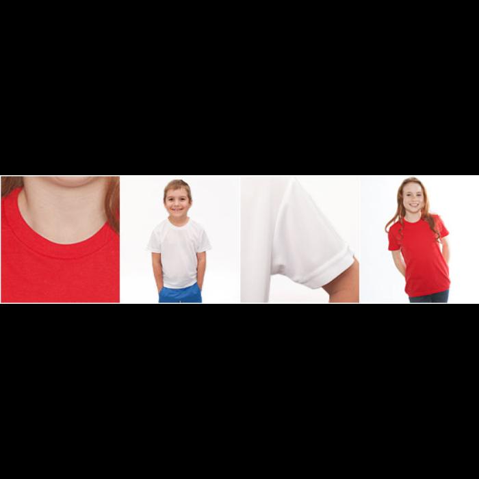 Pustende T-skjorte for barn