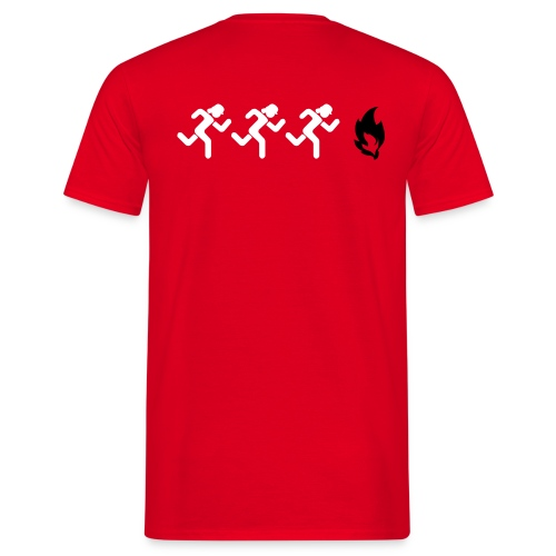 Männer T-Shirt:  Wir löschen alles!! - Männer T-Shirt