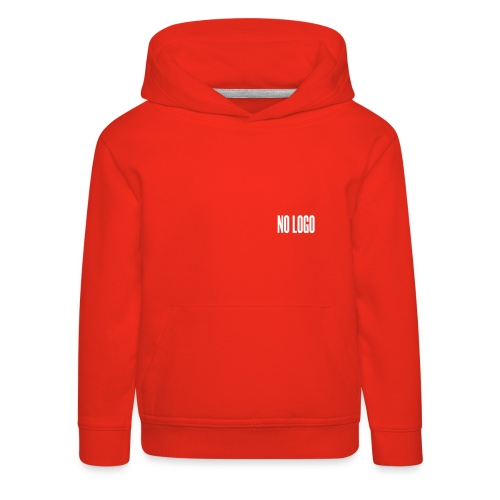 T-shirt NO LOGO enfant - Pull à capuche Premium Enfant