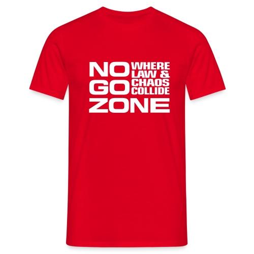 NGZ Logo T - Red - Men's T-Shirt