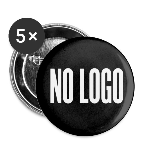 Badge NO LOGO grand - Badge grand 56 mm