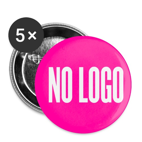 Badge NO LOGO moyen - Badge moyen 32 mm