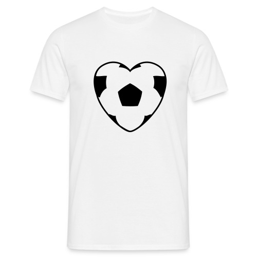 Heartball (black) - Men's T-Shirt