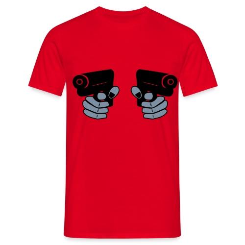 2 knarren  - Männer T-Shirt