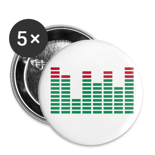 5er Pack Buttons - Buttons klein 25 mm