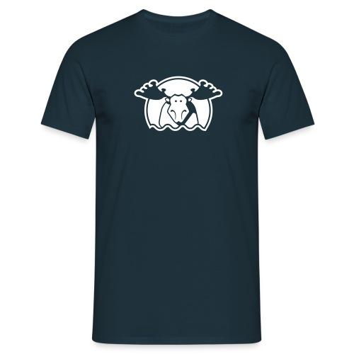 Elg - marine - Männer T-Shirt