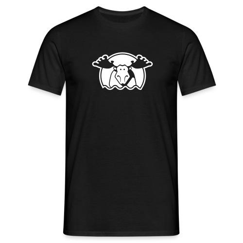 Elg - svart - Männer T-Shirt