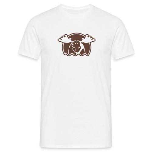 Elg - hvit - Männer T-Shirt