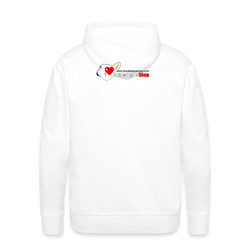 Logo Bouledogue Shop - Sweat-shirt à capuche Premium pour hommes