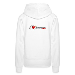 Logo Bouledogue Shop - Sweat-shirt à capuche Premium pour femmes