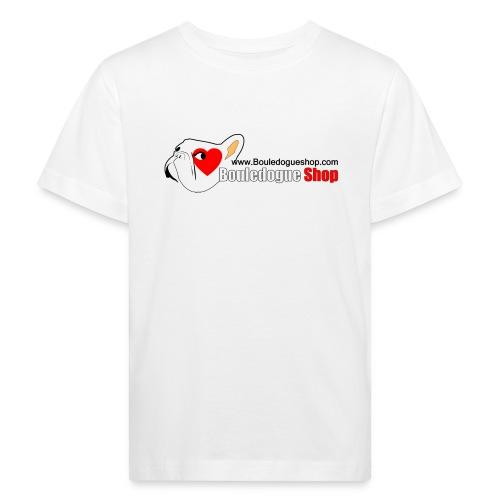 Logo Bouledogue Shop - T-shirt bio Enfant
