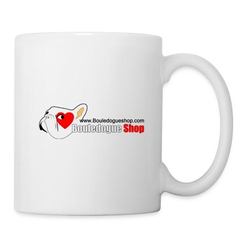 Logo Bouledogue Shop - Mug blanc