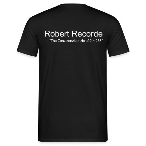 Robert Recorde - T-shirt herr