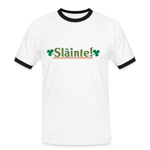 Slainte!-Cheers! T-shirt - Men's Ringer Shirt