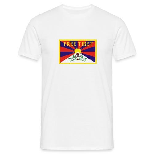 Free Tibet - Männer T-Shirt