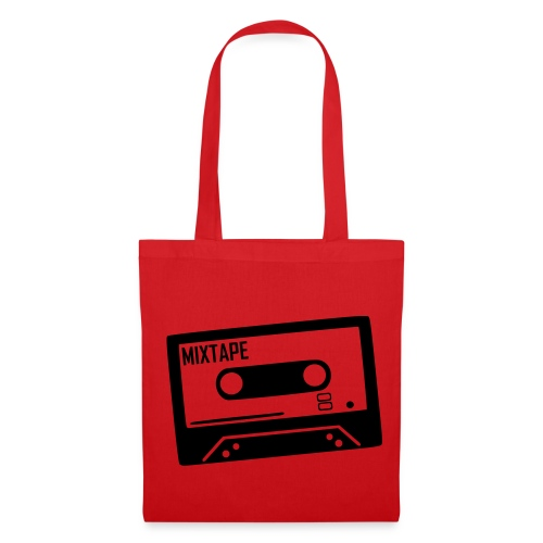 Stofftasche my favourite tape rot - Stoffbeutel