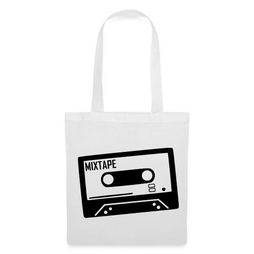 Stofftasche my favourite tape weiß - Stoffbeutel