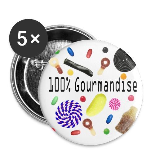 J'aime les bonbons - Badge petit 25 mm