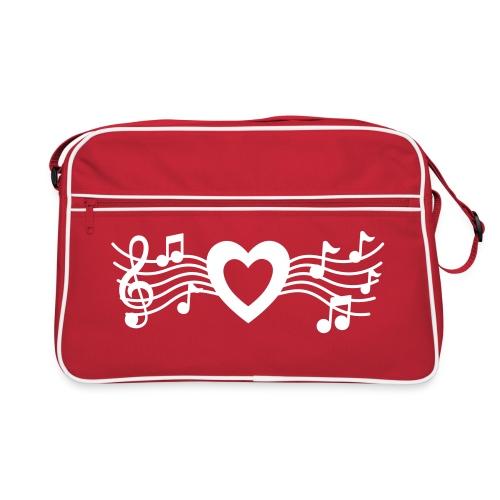 Love Music - Retro Bag