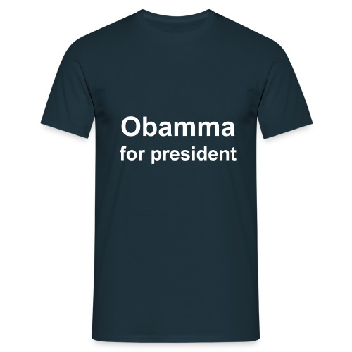 B Obamma for president - T-skjorte for menn