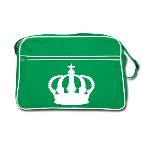Retro Tasche royal braun / sand - Retro Tasche