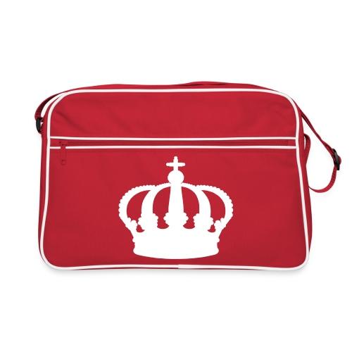 Retro Tasche royal rot / weiß - Retro Tasche