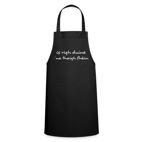 Rìgh Apron - Black - Cooking Apron