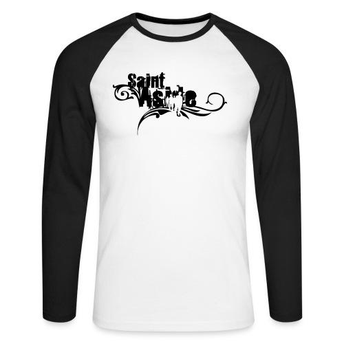 Langarmshirt Advanced (schwarz) - Men - Männer Baseballshirt langarm