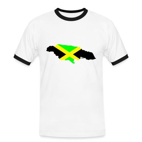 Jameica Shirt 2 - Männer Kontrast-T-Shirt