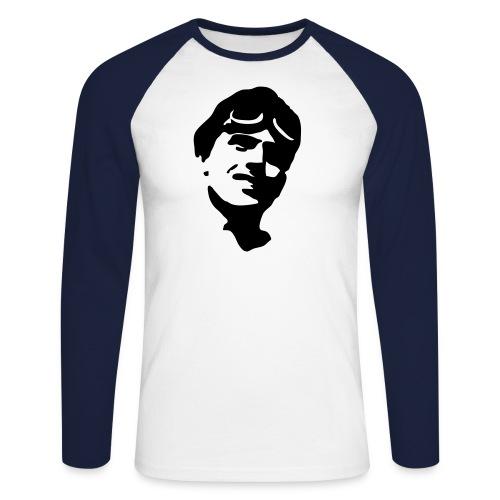 retro shirt 2 - Männer Baseballshirt langarm