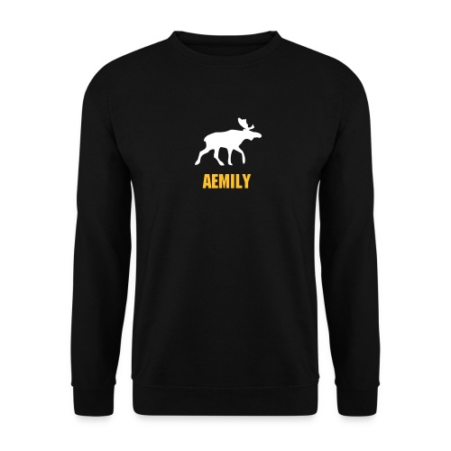 Elk Sweat Black - Männer Pullover