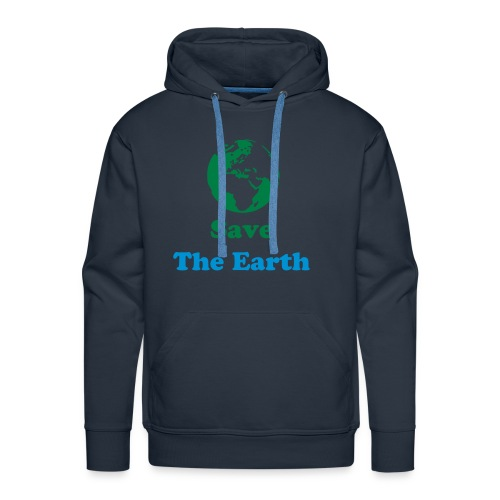 Save The Earth - Men's Premium Hoodie
