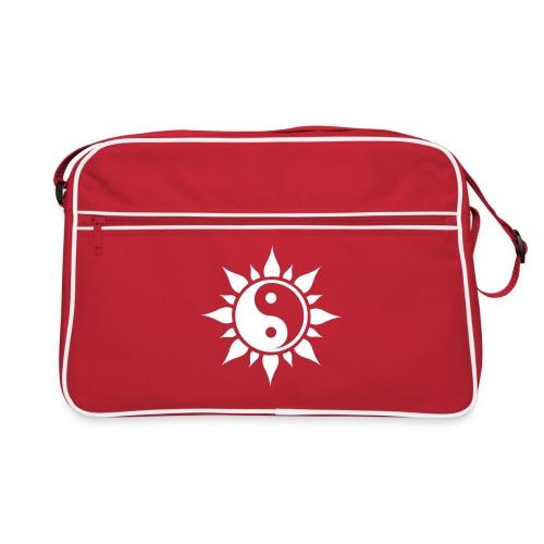 Yin Yang Flower New - Retro Bag