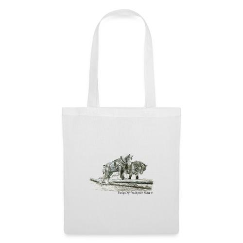 Adeux sur les troncs - sac - Tote Bag