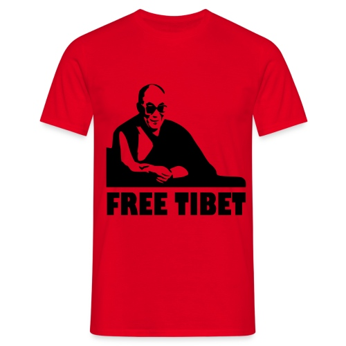 Free Tibet - T-shirt Homme