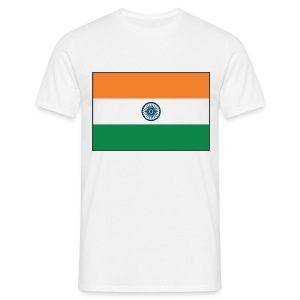 IndiaFlag - Men's T-Shirt