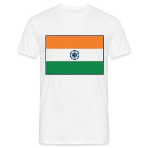 IndiaFlag - Men's T-Shirt