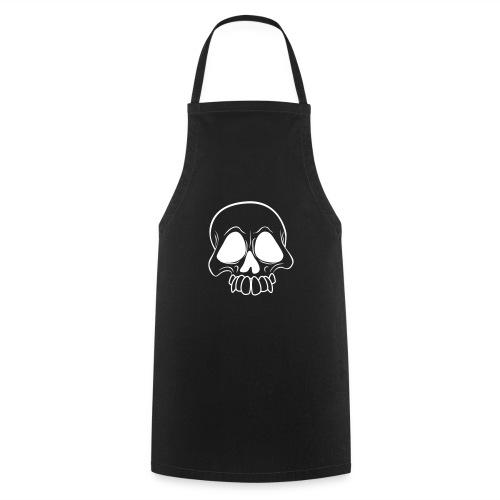 Totenkopf - Schädel - Schürze - Kochschürze