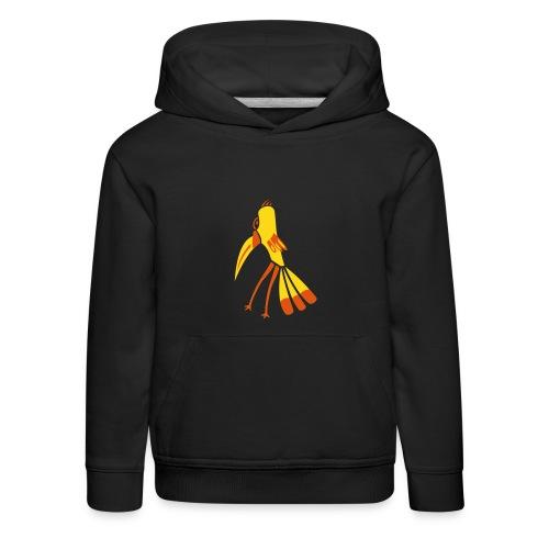 Vogel Kinder Pullover - Kinder Premium Hoodie